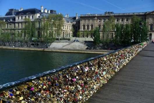 Paris Locks Bridge