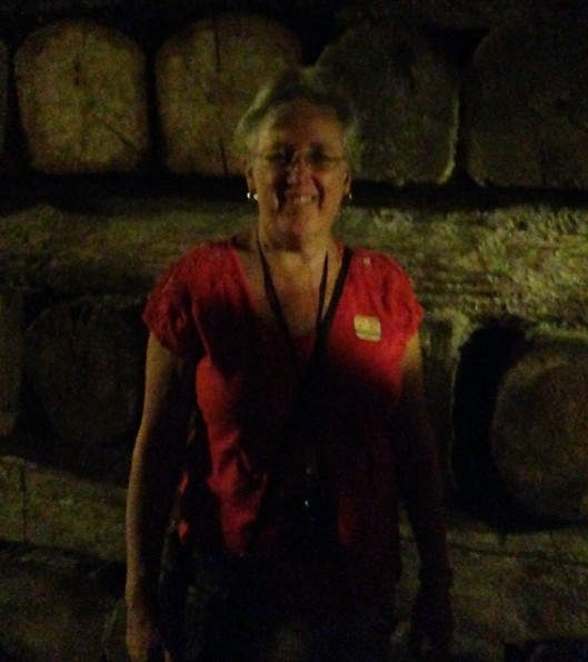 Pat in Salt Mine