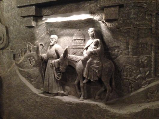 Mary & Jospeh Traveling